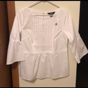 Chase Bank 3/4 bell sleeves